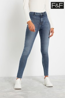 F&F Mid Wash Authentic Jeans