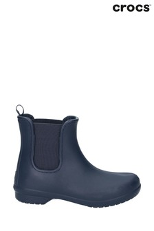 Crocs™ Blue Freesail Chelsea Boots