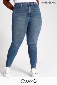 River Island Mid Auth Plus Size Kaia Regina Jeans