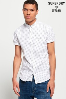 Superdry Premium University Jet Short Sleeve Shirt