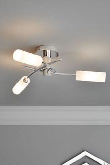 Seville 3 Light Flush Fitting