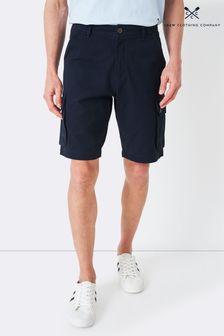 Crew Clothing Company Blue Cargo Shorts