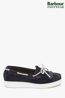 Barbour® Navy Klara Loafers