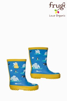 Frugi Bear Print Welly