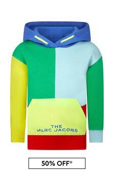 Marc Jacobs Boys Yellow Cotton Hoody