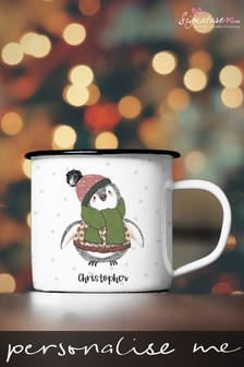 Personalised Illustrated Animal Mug by Signature PG