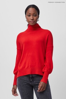French Connection Babysoft High Neck Long Sleeve Jumper