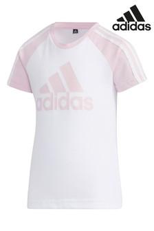 adidas Little Kids Logo T-Shirt