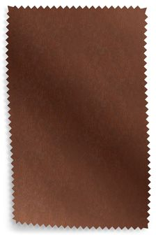 Cuba Dark Tan Leather Upholstery Fabric Sample