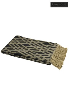 Madison Fringe Throw by Riva Home