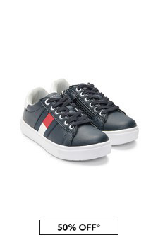 Kids Navy Trainers