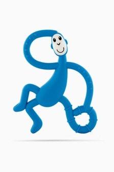 Matchstick Monkey Dancing Monkey Teether - Blue