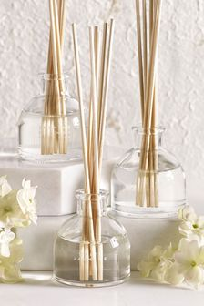 Set of 3 White Jasmine 40ml Diffusers