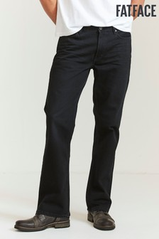 FatFace Washed Black Bootcut Jeans