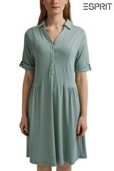 Esprit Blue Knitted Dress