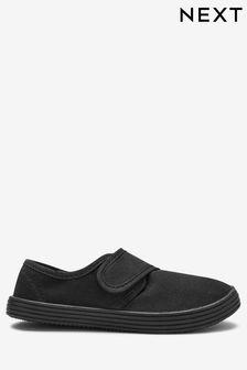 Легкие парусиновые туфли на резиновой подошве (Подростки)