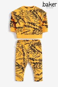 Baker by Ted Baker Printed Sweat Set