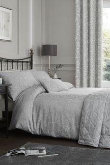 Alexa Jacquard Duvet Cover and Pillowcase Set by Serene