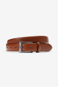 Leather Pebble Grain Belt