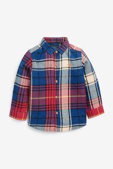 Check Long Sleeve Shirt (3mths-7yrs)
