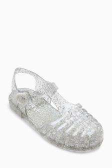 Glitter Jelly Shoes (Older)