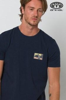 Animal Indigo Blue Heritage Graphic T-Shirt