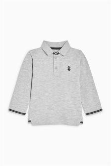 Long Sleeve Polo (3mths-6yrs)