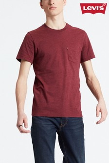 Levi's® Burgundy Sunset Pocket T-Shirt