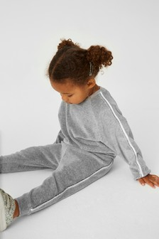 Velour Co-ord Top/Joggers Set (3mths-7yrs)