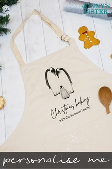 Personalised Penguin Apron by Jonnys Sister