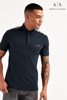 Armani Exchange Navy Polo