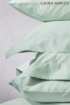 Set of 2 Duck Egg 200 Thread Count Cotton Pillowcases