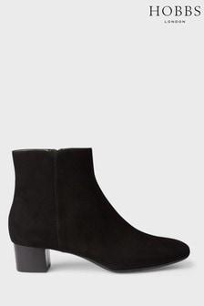 Hobbs Black Sadie Ankle Boots