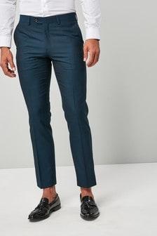 Signature British Wool Tonic Suit: Trousers