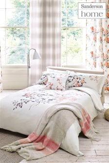 Sanderson Magnolia And Blossom Duvet Cover