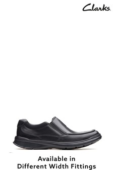 Clarks Black Cotrell Free Shoes