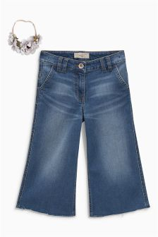 Hosenrock aus Denim (3-16yrs)