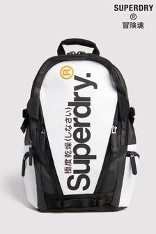 Superdry White Tarp Backpack