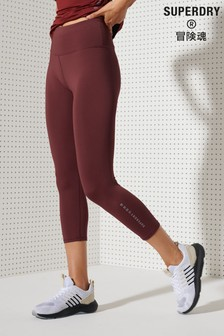 Superdry Training Small Logo Capri Leggings