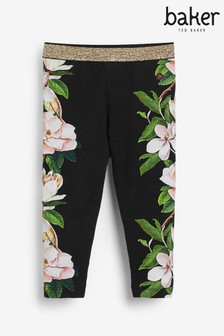 Baker by Ted Baker Girls Side Printed Leggings