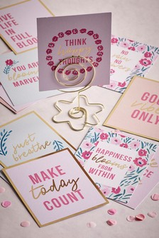 12 Pack Floral Quote Cards