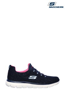 Skechers® Blue Summits Leopard Spot Trainers