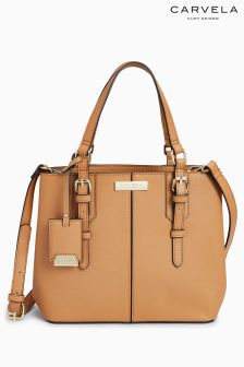 Carvela Ortha Mini Slouch Tan Tote