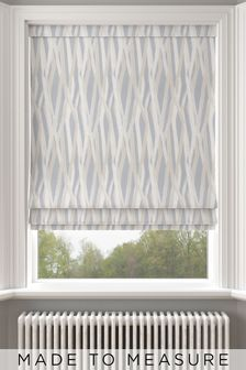 Blue Ayers Made To Measure Roman Blind