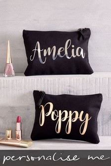 Personalised Large Make Up Bag by Loveabode