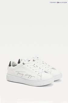 Tommy Hilfiger Signature Leather Trainers