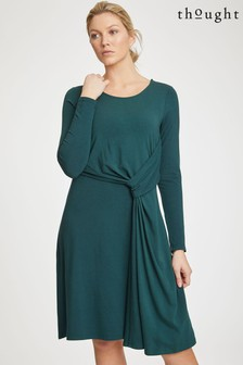 Thought Green Tamora Dress