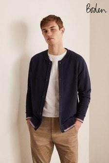 Boden Irvine Button Through Sweatshirt