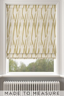 Ayers Sunflower Gold Made To Measure Roman Blind
