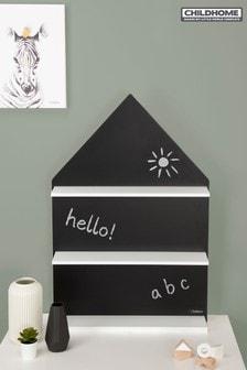 Childhome Chalk Board & Shelf